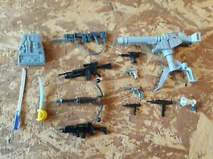 "Weapons 6"" scale 1:12 weapons Guns  Accessories G.I. Joe  Marvel Legends Lot 9"