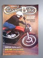 R&L Mag: Classic Bike 1989 September, Indian Super Scout/BSA B33/Benelli Tornado