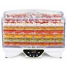 ElectriQ EDFD06 Digital Food Dehydrator - White