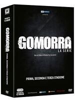 GOMORRA - LA SERIE COMPLETA UNICO BOX (12 DVD) SERIE TV CULT ITALIANA