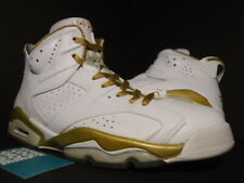 official photos e657f f4408 NIKE AIR JORDAN VI 6 RETRO GMP GOLDEN MOMENT GOLD MEDAL PACK WHITE INFRARED  10.5