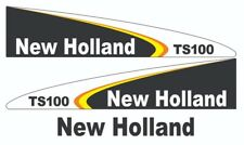 New Holland TS100 Tractor Decal / Adhesive / Sticker Complete Set