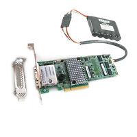 LSI MegaRAID SAS 9286CV-8e 6GB/S 1G cache RAID PCI-E + BBU batery Capacitance