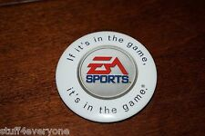"Walmart Pinback Button EA Sports  ""If it's in the game, it's in the game"""