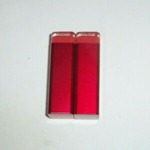 2 tube lot COVERGIRL COLORLICIOUS LIPSTICK 305 HOT unsealed tip flaw