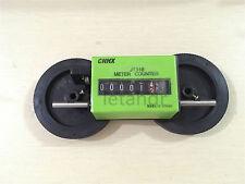 JM316 Mechanical Yard Counter Resetable Rolling Wheel Length Counter Decoder