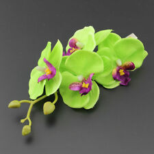 1PC Women's Butterfly Orchid Flower Hair Clip Bridal Wedding Party Barrette Pin