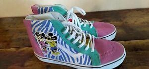 Sneaker von Vans Disney Mickey Mouse Größe 37 Wildleder bunt High top Hi-Top