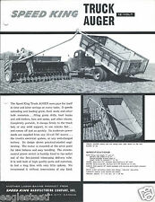 Farm Equipment Brochure - Speed King - Truck Auger - Wayamatic - 2 items (F4236)