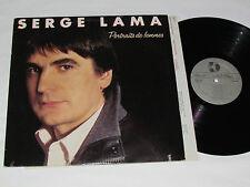 SERGE LAMA Portraits de Femmes LP 1986 Kebec-Disc KD-648 Canada French VG/VG