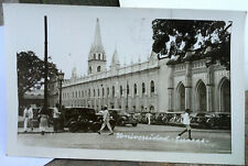 CARACAS, VENEZUELA Photo Post Card SOUTH AMERICA 1930s UNIVERSIDAD, STREET SCENE