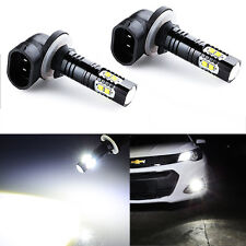 JDM ASTAR 2x 50W CREE 881 889 6000K Super White LED Fog Driving DRL Lights Bulb