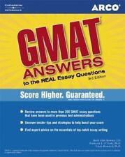 GMAT: Answers to the Real Essay Questions by Mark A. Stewart