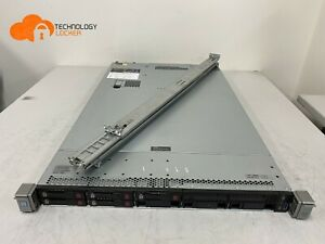HP ProLiant DL360 G9 Server CPU E5-2630 v4 64GB RAM 5x 300GB HDD P440AR Rails