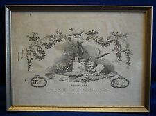 Beethoven-Sonatas & airs titolo per rame 1812-ORIGINALE!