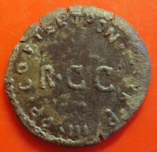 Roman Caligula 37-41 AD quadrans