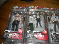 McFarlane The Walking Dead Series 4 action figures complete set of 6! Rick Excl