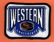 NHL WESTERN CONFERENCE NATIONAL HOCKEY LEAGUE PATCH