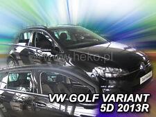 HEKO Windabweiser VW GOLF 7 VII 5türer Variant ab 2012 4tlg Regenabweiser 31195