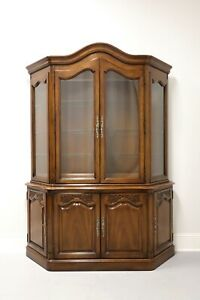 WHITE OF MEBANE French Country Style China Cabinet