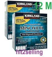 12 Months 5% Minoxidil Extral Strength Men Hair Regrowth Kirkland! Sealed Box