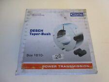 Desch TAPER BUSH Buchse Spannbuchse Type 1610 Bohrung 28mm | NEU | OVP