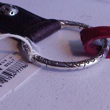 Brighton U Rock Stretch Belt Womens Size 32 Brown Leather B60209