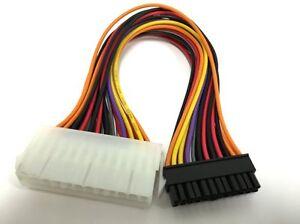 "9 Inch 9"" 24 pin ATX MB PSU Power Supply Convert Cable to HP Mini Slimline 24pin"