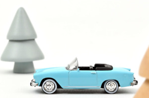 1/87 Norev Simca Aronde P60 Océane 1960 Blue Neuf En Boîte Livraison Domicile