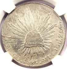 1847-GC MP Mexico Republic 8 Reales Coin (8R) - Certified NGC AU Details!