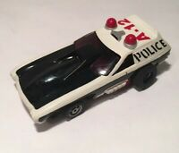 New Old Stock Aurora AFX HO slot car Police Vega with Screecher Chassis Slotless