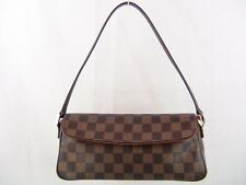 US seller Authentic LOUIS VUITTON DAMIER RECOLETA BAG LV PURSE good usable
