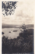 Postcard RPPC View from Hill NORTH OF BLUE MOUNTAIN HOUSE Photo Park Canton NY