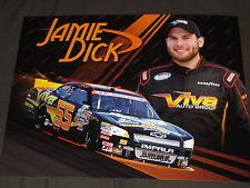 2013 JAMIE DICK #55 VIVA AUTO GROUP NASCAR POSTCARD
