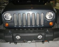 METAL MESH GRILLE GUARD INSERT KIT For JEEP WRANGLER JK