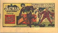 BATMAN KELLOGGS POP TARTS MINI COMIC PROMO GIVEAWAY THE JOKERS HAPPY VICTIMS VNM