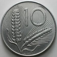 1975  Repubblica Italiana   10  lire  mancanza di metallo