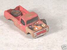N Scale 1973 Abandon Rusted out Red Chevy Pickup