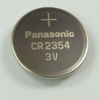 5 New Panasonic CR2354 2354  CR 2354 3V lithium BATTERIES