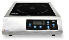 Omcan CE-CN-3200 24221 Electric Induction Cooker SS 3200 Watts ETL NEW