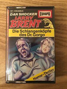Larry Brent Nr. 9 Die Schlangenköpfe des Dr. Gorgo MC Europa Gelb 1983