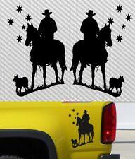 Australia BEST FRIENDS Decal Car Ute 4x4 300mm MAN HORSE & DOG pair