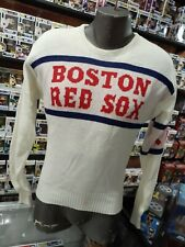 Vintage 1980s MLB Boston Red Sox Engle Sweater Size S NOS