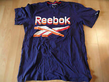 REEBOK schönes Shirt mit Druck blau Gr. L NEUw. MC516