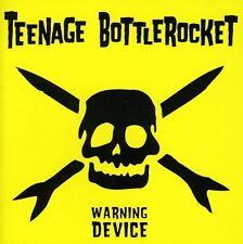 Teenage Bottlerocket - Warning Device [New CD]