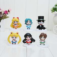 Lot de 6 Sailor Moon NEUVES