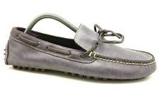 Cole Haan Air Purple Leather Deck Boat Moccasin Driving Loafers Shoes Mens 8.5 M