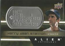 "Alien Anthology - DT-SB Harry Stanton ""Samuel Brett"" Space Marine Dog Tag Card"