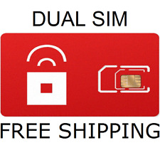 RED POCKET MOBILE SIM CARD Micro/Standard DUAL BRAND NEW NEVER ACTIVATED