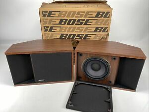 Pair of Bose 201 Series II Direct/Reflecting Speakers NEW open box